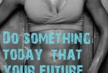 Fitness e Saúde / Exercícios e alimentos para uma vida mais saudável