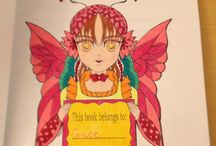 Anime Doodle Girls Coloring Book Vol 2 / Pictures That I Have Colored From This Coloring Book