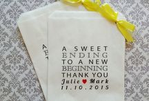 Wedding White Paper Lolly Bag Designs