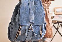 Джинса рюкзаки