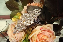 BRIDAL HAIR ACCESSORIES / Elegant hair accessories, made using Swarovski elements. All pieces are custom made to for every bride with their choice of components.