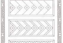 Patterns for drawing practice