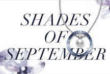 Shades of September / In spirit of September's gemstone, shop the Mikimoto jewelry featuring sapphires. ‪ / by Mikimoto