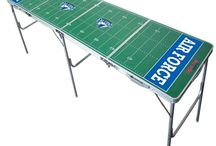 NCAA 2x8 Pong Tables / Over 80 NCAA football teams have their own tailgate table. Perfect for every fan! / by Skip's Garage