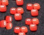 10mm Cushion Natural Carnelian Cabochon Orange Color Loose Gemstone