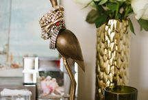 Jewelry Storage & Display / Let your jewelry shine! Pretty and interesting ways to store and display jewelry.