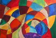 Portfolio / Abstract paintings / Abstract art, acrylic paintings, mixed-media