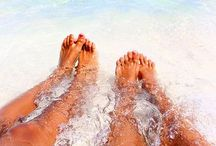 vacanze al mare / bare feet,sea