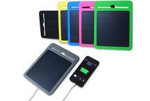 Caricabatterie ad Energia Solare / I caricabatterie ad energia solare permettono di caricare i propri dispositivi portatili ovunque!!