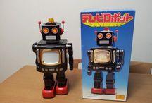 JAPAN VINTAGE ROBOTS