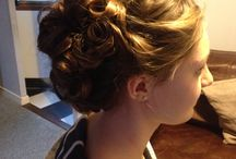 My own hair up / Hair up I've done Add me on Facebook Zoe bray hair up