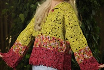 casacos de crochet / by Maria Fátima Almeida