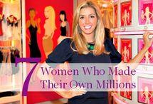 Moolah. / Wealth. Inspiration. Female. Money. Billionaire. Millionaire.