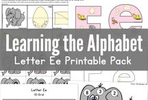 Learning the Alphabet / by Jessica