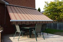 Retractable Awnings / Retractable Awnings installed by Jans Awning Products in Burlington, ON.