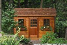 garden sheds / by Nancy Friesen