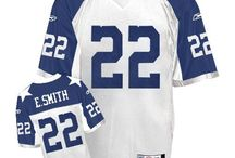 Cowboys #22 Emmitt Smith Home Team Color Authentic Elite Official Jersey
