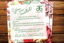 Etsy Creations -  Arbonne / My Etsy shop The Golightly Project -  Arbonne invitations / by Katherine Cornick