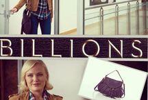 Annie Handbags on Billions / Annie Handbags is featured throughout  Showtimes Series Billions.