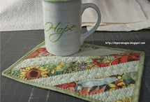 Mug Rugs / by Rock Garden Alpacas & Inspired Creations by D