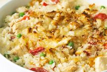C - Casseroles - Chicken - recipes / by Denise Temple
