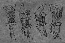 무기, 갑옷, 장신구