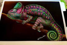 Adult colouring - Tim Jeffs