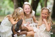 A Cinderella Wedding Bridesmaids & Flower girls