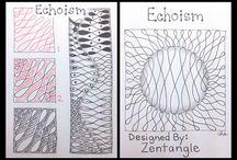 Czt pattern zentangle