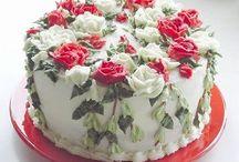 Floral Displays - Cakes