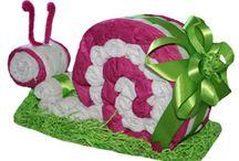 plienkové a uterákové torty, darčeky :-)