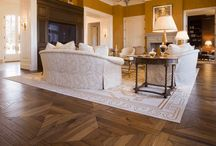 Wood Floor Designs, Medallions and Accent Boarder