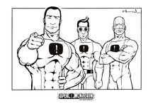 Coloring Pages For Kids / Coloring Pages With Superheroes