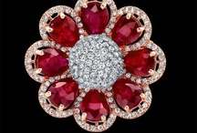 Flower Power / As April showers bring May flowers, we have a few flowers of own.  Check out our board of jeweled flowers.