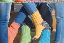 stickat [sockor & tofflor]