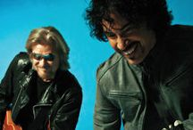 Hall & Oates / Daryl Hall and John Oates as the number one selling duo in music history, a record they still hold today / by Martin Handyside