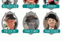 Agatha Christie -photo, Actors / Fotografii AG si ale actorilor din filmele ecranizate