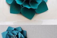 Artesanato de flores