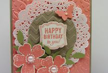 stampin' up Flower Shop & Punch