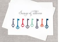 Cards-Change of Address / by Emily Moore