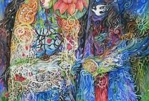 Visionary Art and Artists / The kind of art that takes your breath away and shows you what you're really made of.