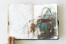 sketchbooks / examples of visual journals