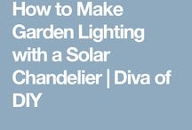 Lighting garden solar