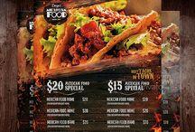 flyer & menu