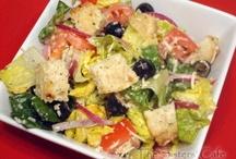 Salads/Dressings / Green, fresh / by Kerry McKinnon