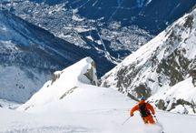 Chamonix in winter