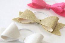 hair bows and styles