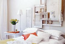Farmhouse Guest Room Ideas / Ideas to update Jordy's old bedroom which is being used as a photography studio, office, and guest bedroom + storage. Farmhouse guest room makeovers!