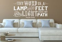 Religious Sayings / Religious Sayings Vinyl Wall Decals and Quotes.