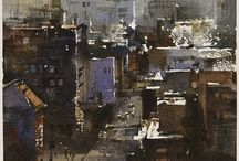 Chien Chung Wei-Contemporary Watercolours / (TW)